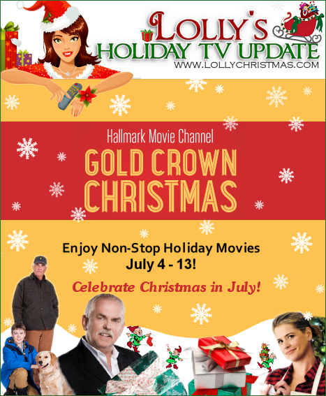 Christmas In July Movie.Hallmark Movie Channel S Gold Crown Christmas