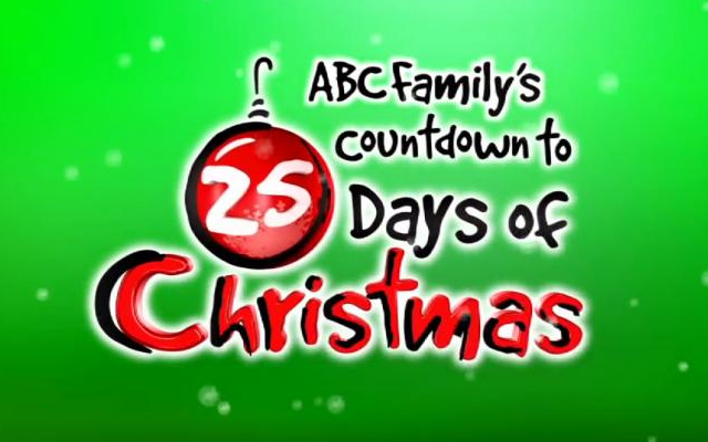 abc familys countdown to 25 days of christmas schedule - Abc Family 25 Days Of Christmas Schedule