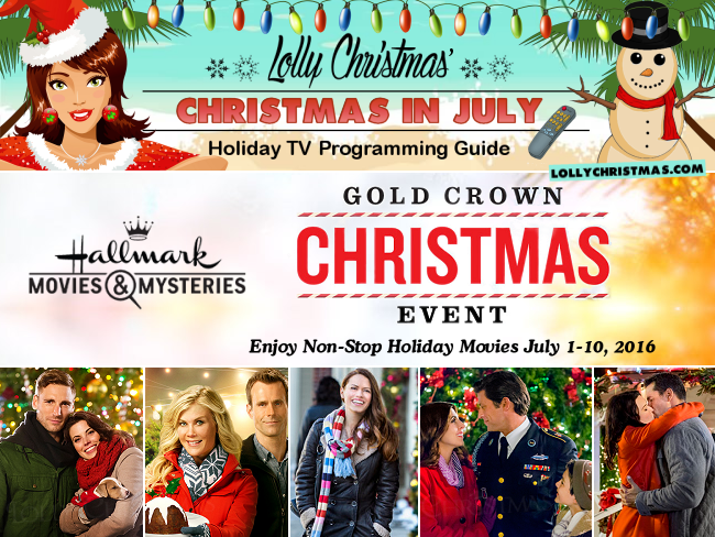 Hallmark Movies Mysteries Gold Crown Christmas Week Lollychristmas Com