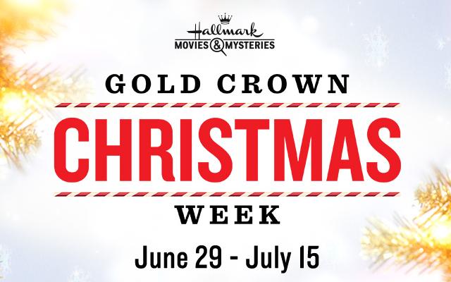 Hallmark Movies And Mysteries.Hallmark Movies Mysteries Gold Crown Christmas Week