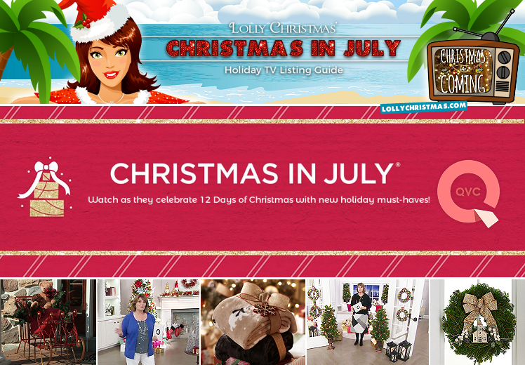 Christmas In July Qvc.Celebrate Christmas In July With Qvc Lollychristmas Com
