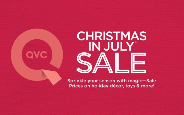 Hallmark Christmas In July Logo.Celebrate Christmas In July With Qvc Lollychristmas Com