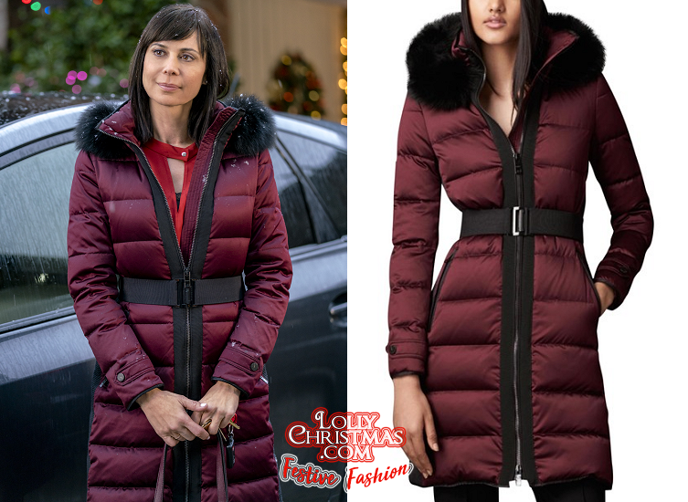 Christmas In The Air.Catherine Bell S Coat From Hallmark S Christmas In The Air