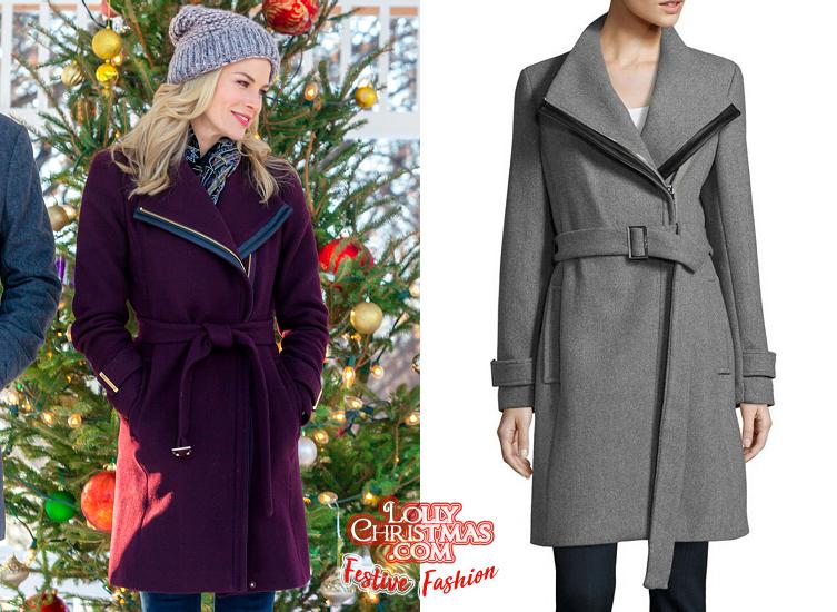 Christmas Next Door Hallmark.Brooke Burns Fiona Gubelmann Wear The Same Coat In Their
