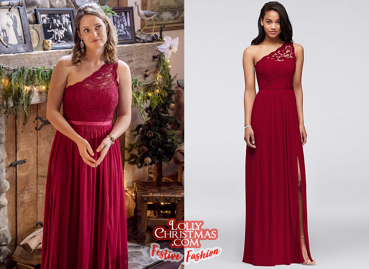The Christmas Cottage.Merritt Patterson S Gown From Hallmark Channel S The