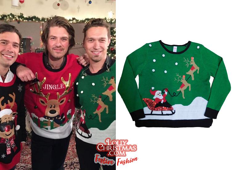 Hanson's Many Christmas Sweaters! –
