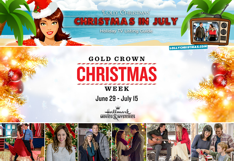 Christmas In July Hallmark Movies 2019.Christmas In July Programming Lollychristmas Com