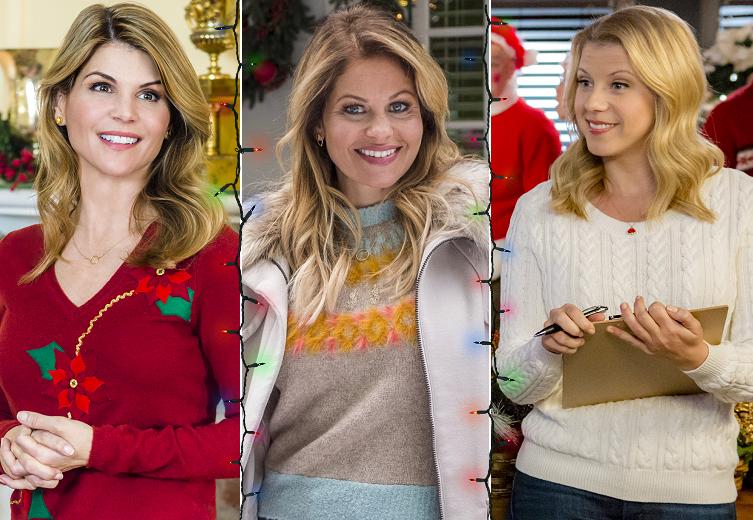 lori loughlin jodie sweetin to star in hallmark christmas movies this holiday season - Candace Cameron Christmas Movies