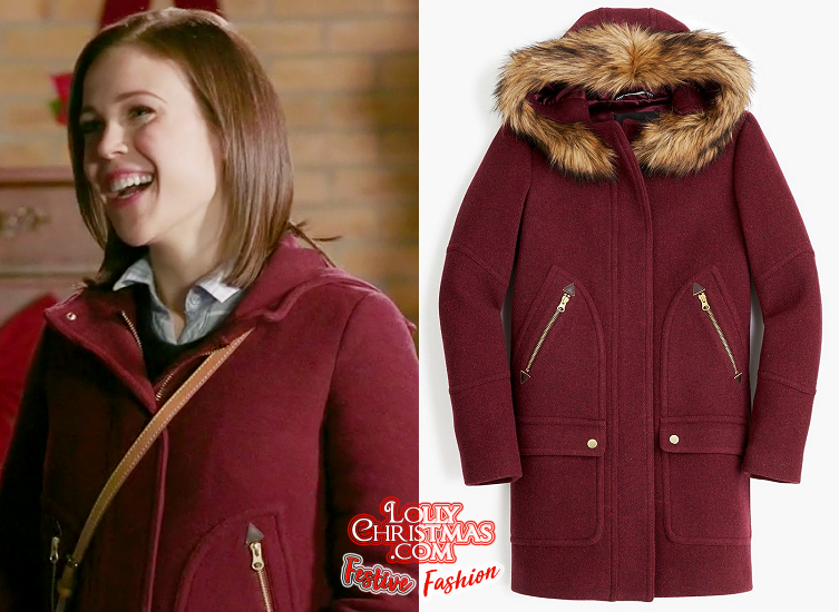 Marrying Father Christmas.Get Erin Krakow S Coat From Hallmark S Marrying Father