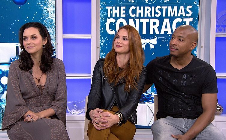 Sharing Christmas Cast.The Cast Of One Tree Hill Talk Christmas Movie On Today