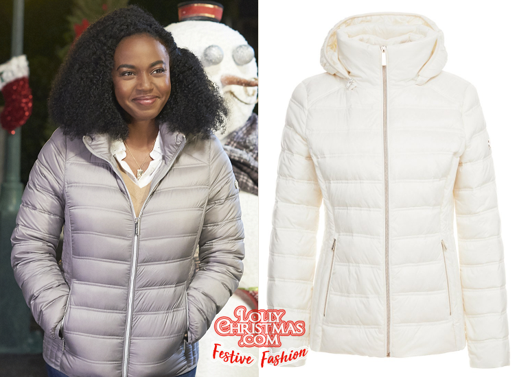 Majestic Christmas.Jerrika Hinton S Fashion From Hallmark S A Majestic
