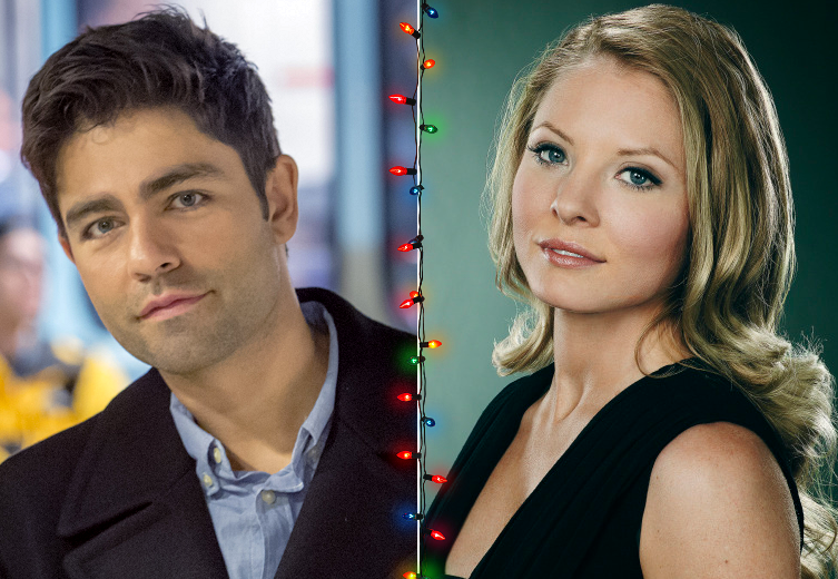 Christmas At Graceland 2.Adrian Grenier Kaitlin Doubleday Lead Hallmark S