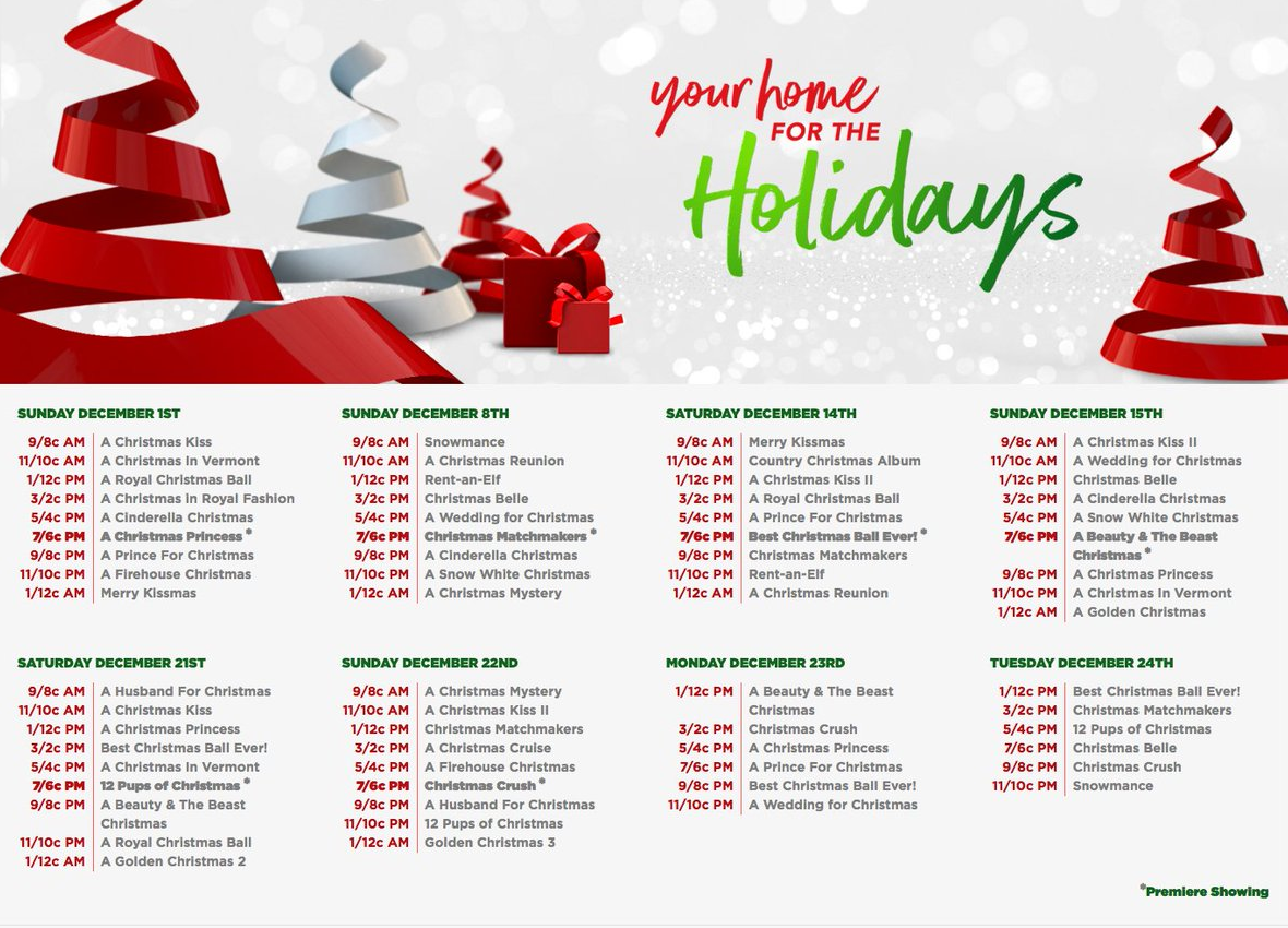 Ion Television Is Your Home For The Holidays With 6 All New Movies 25 Returning Favorites Lollychristmas Com