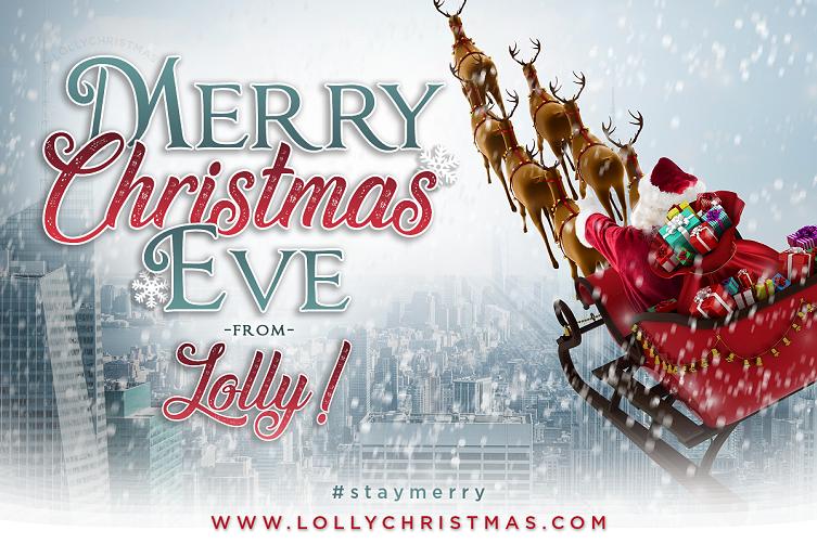 Merry Christmas Eve! 🎄 – LollyChristmas.com